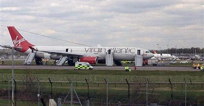 Faulty alarms caused Virgin Atlantic emergency