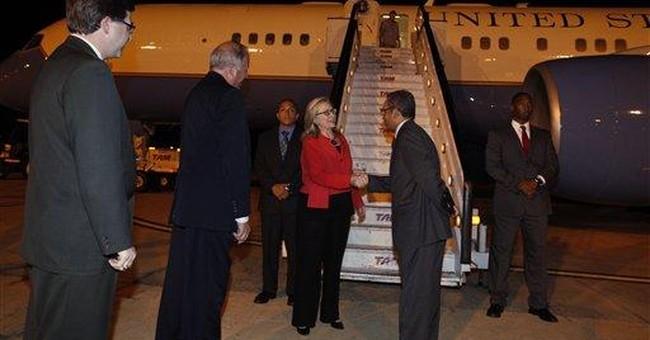 Brazil: Hillary Clinton talks up business ties