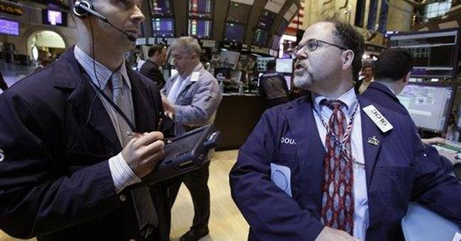 Apple weighs on Nasdaq; Dow climbs 72