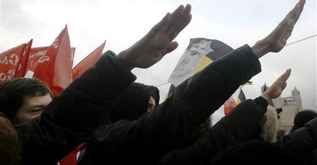 Distinctive salutes run the political gamut
