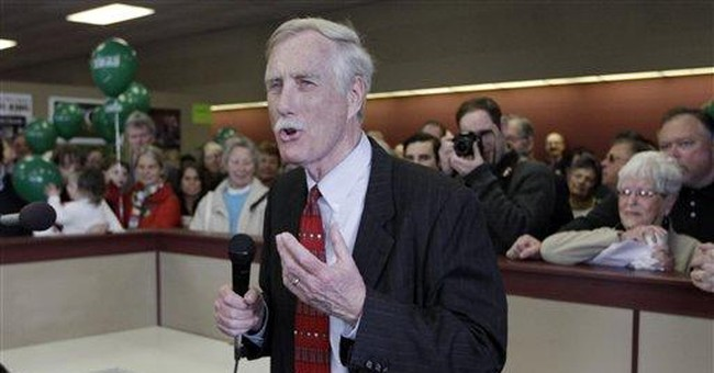 Maine voters seek female senator. Enter Angus King