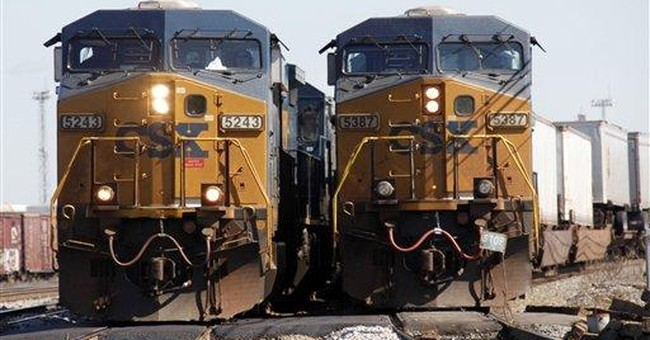 Rail operator CSX boosts 1Q profit on higher rates