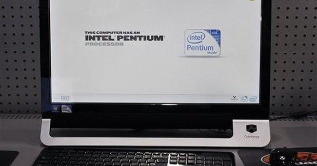 Intel 1Q earnings fall 13 percent, revenue steady