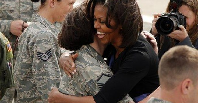 First lady visits W. Pa. air unit set to close