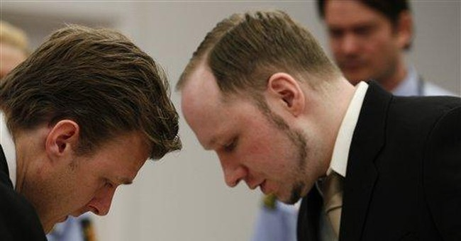 Norway killer expounds on fanatical views at trial