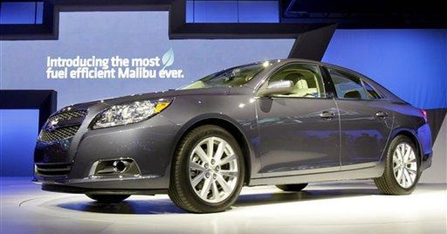 New Malibu has premium look
