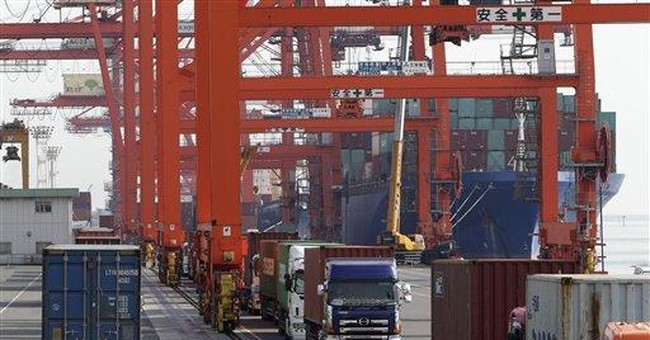 Japan trade deficit a record as fuel imports rise
