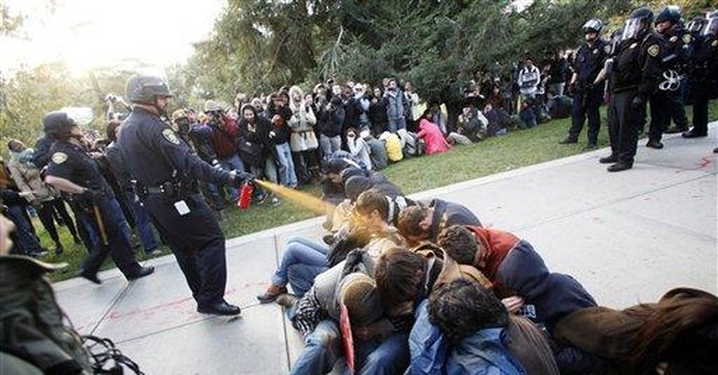UC Davis police chief resigning after pepper spray
