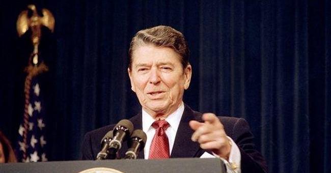 THE RACE: Romney, Obama both claim Reagan legacy
