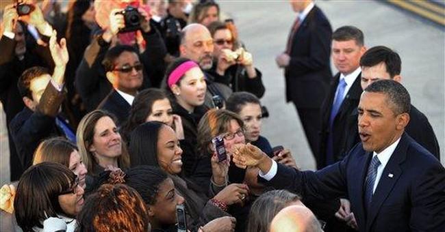 SPIN METER: Obama feigns disinterest in politics