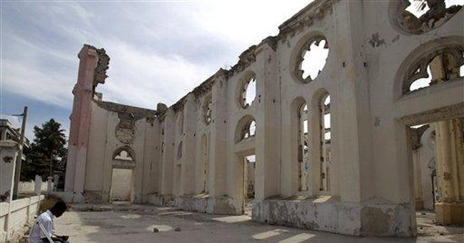 Few major Haiti reconstruction projects have begun