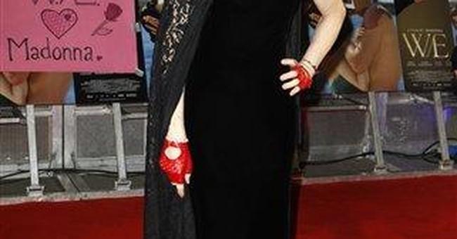 Madonna attends London premiere of her film 'W.E.'