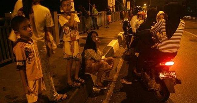 7.3 quake hits off Indonesia; panic, no injuries