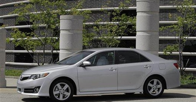 Toyota Camry remains top seller