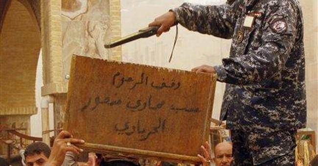 Al-Qaida claims Iraq's worst violence in a month