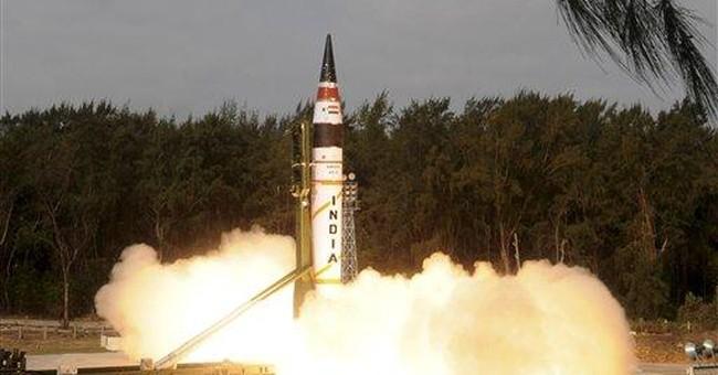 India missile test has few critics, unlike NKorea