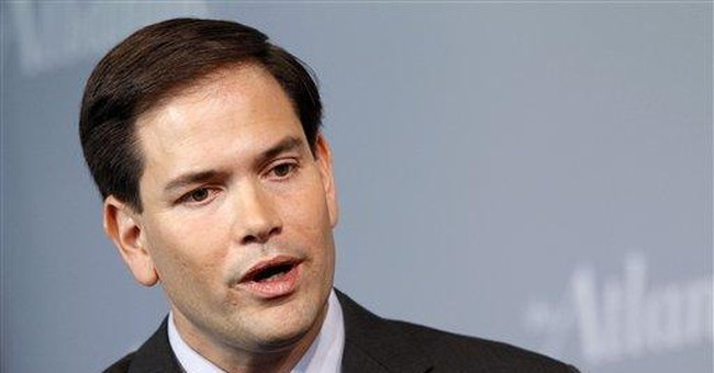 Rubio shrugs off veep talk but just wait till 2016