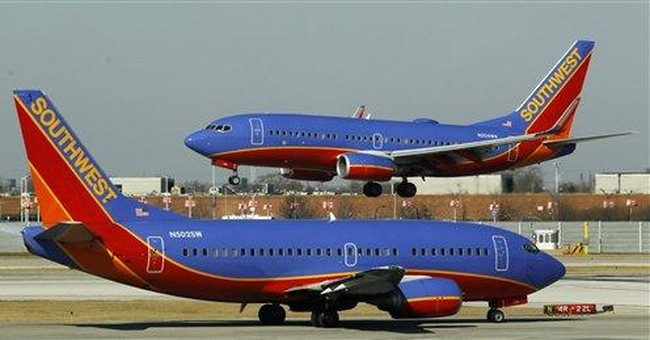 Southwest posts 1Q profit on special items