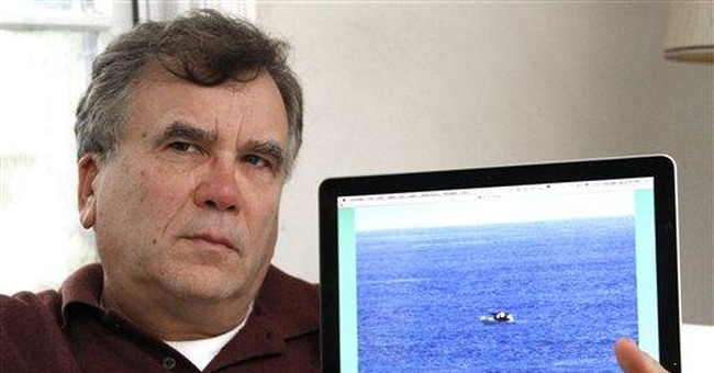 Cruise ship passed by disabled fishing boat