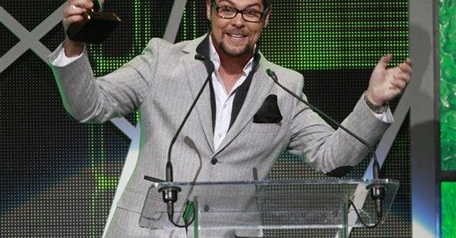 Jason Crabb wins gospel music artist of the year