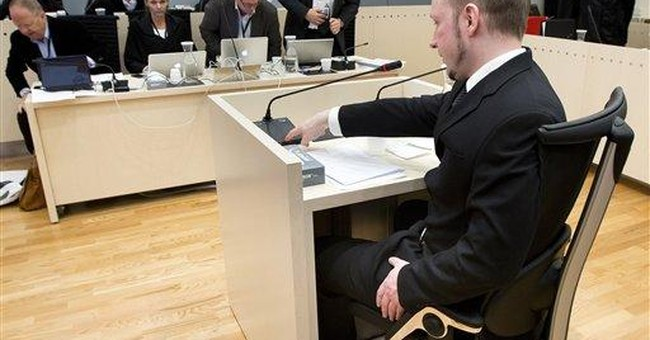 As killer gloats in court, Norway shows no anger