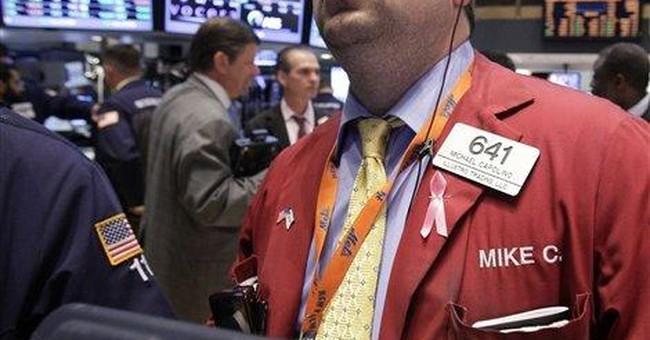 Stocks drop on mixed news on profits, economy