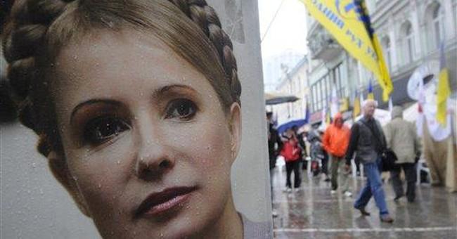 Ukraine's jailed ex-PM goes on hunger strike