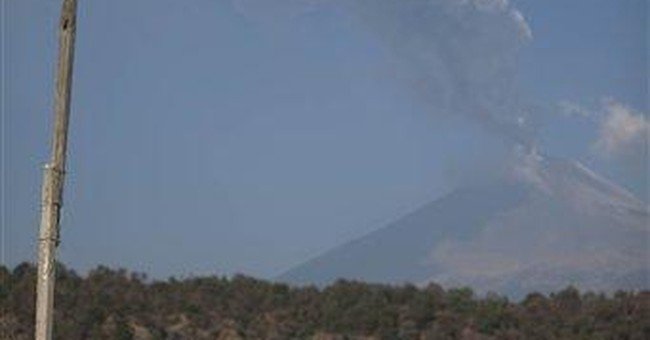 Mexico preps shelters as volcano roars, spews ash