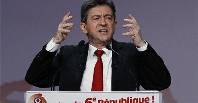 It's all about emotion in French presidential race