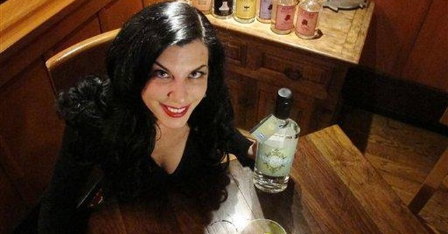 Reporter attempts to describe taste of hemp vodka