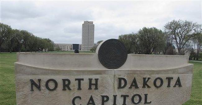 North Dakota bridles at neighbor's Capitol insult