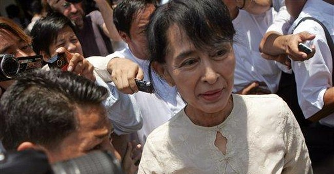Suu Kyi party refuses Myanmar seats over oath row