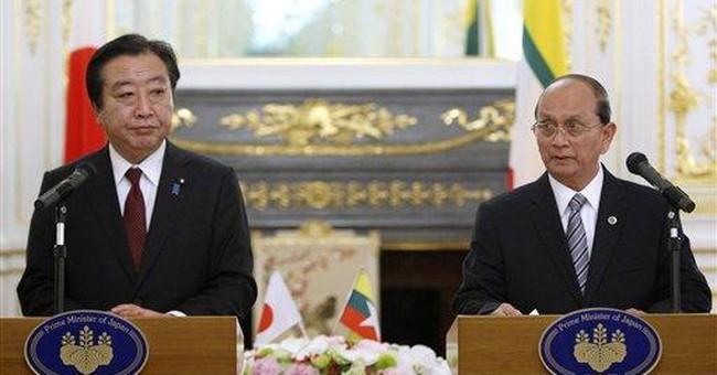 Japan to forgive $3.7 billion of Myanmar's debt