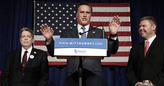 Millionaire Romney says his grandfather wasn't one
