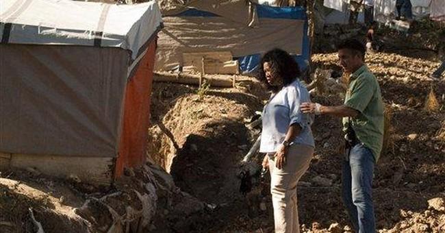 Sean Penn says he's in Haiti for the long haul