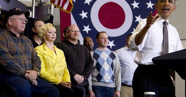 Swing-state unemployment down, Obama's chances up
