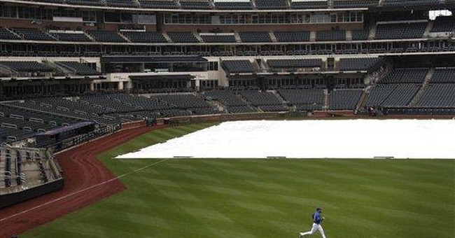 Heavy rain in East, and April snowflakes for some