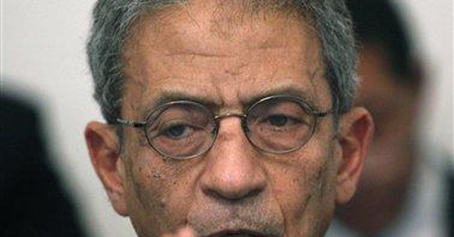 Presidential candidate Moussa says Egypt in crisis