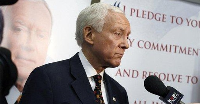 Hatch withstands tea party opposition, for now
