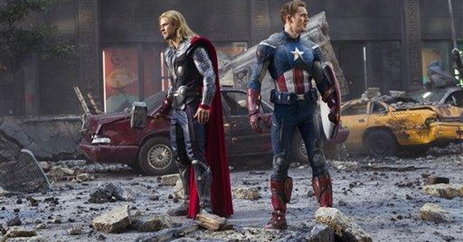 Review: `Avengers' hits big screen with a blast