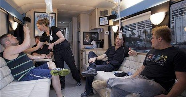 Doc rolls out 'Hangover Heaven' on Vegas Strip