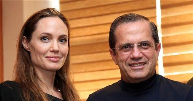 Angelina Jolie visits Ecuador as UN envoy