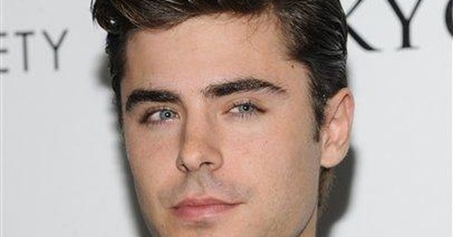 Zac Efron brings 'The Lucky One' to London