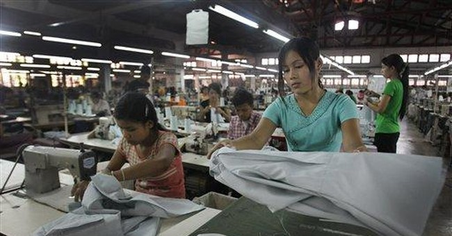 Sanctions lifting could revive Myanmar industry