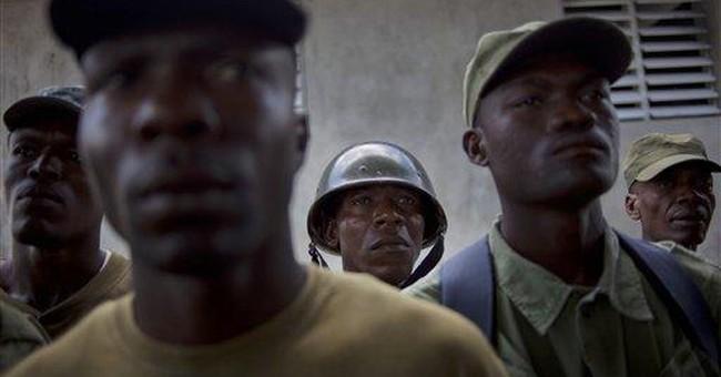 Haiti rogue force refuses to disband