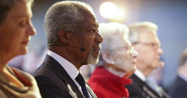 Annan alarmed at Syria military action
