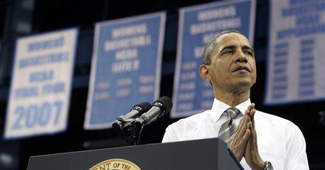 Obama woos students, pushes low rate student loans
