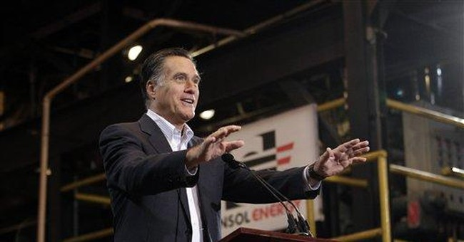 Romney looks to fall election on primary Tuesday