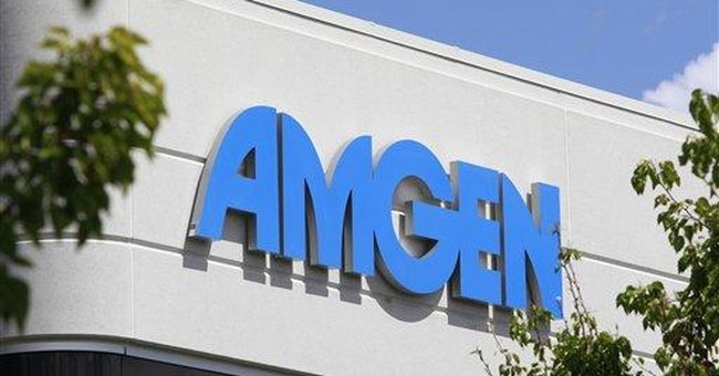 Amgen 1Q profit up 5 pct, beats Wall Street views