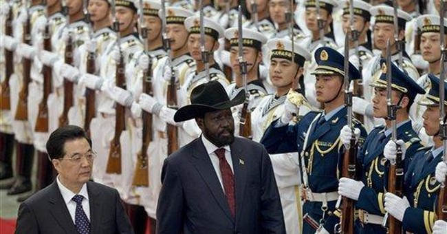 South Sudan's leader says Sudan has declared war